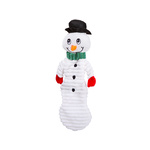 Christmas Crinkle Snowman - Large