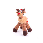 Christmas Plush Floppy Reindeer - Small