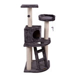 Kazoo Cat Playground 3 Level Cream Corner Unit