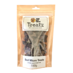 For My Petz Treatz Beef Micro Treats 150g