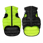 AiryVest Dog Coat S35 Black/Lime