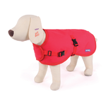 Reflective Nylon Dog Coat Medium 46.5cm Red