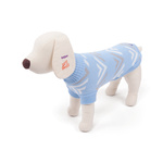 Dog Jumper Coat Medium 46.5cm Pyramid Blue