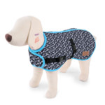 Dog Coat Intermediate 53cm Diamond Grey / Blue