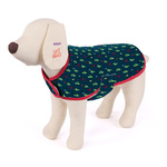 Dog Coat Snuggle Jacket Large 59.5cm Cactus / Eiffel