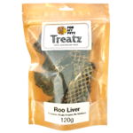 For My Petz Treatz Roo Liver 120g