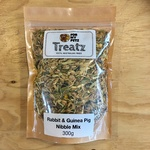 For My Petz Treatz Rabbit and Guinea Pig Nibble Mix 300g