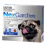 Nexgard Medium 4.1-10kg 3pk (Blue)