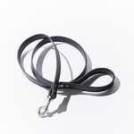 Leather Dog Lead 19mm x 135mm Black