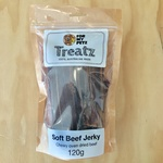 For My Petz Treatz Soft Beef Jerky 120g