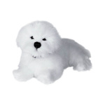 Annabelle the Bichon Frise - 40cm lying