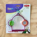 Bon Avi Bird Swing with Rotating Toy and Mirror