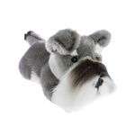 Plush Pets - Scoobie the Schnauzer Puppy 28cm