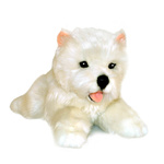 Plush Pets - Pookie the Westie Puppy 28cm