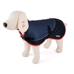 Kazoo Active 2 Tone Dog Coat Grey Red