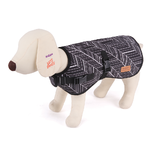 Kazoo Funky Ebony Dog Coat