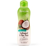 Tropiclean Oatmeal & Tea Tree Medicated Pet Shampoo 355ml