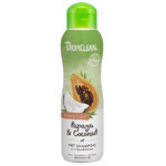 Tropiclean Papaya & Coconut Luxury 2 in 1 Pet Shampoo and Conditioner 355ml