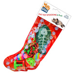 Kitty Play Cat Christmas Stocking 6 pack