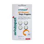 Aristopet All Wormer Tablets for Dog & Puppies 4pk