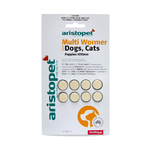 Aristopet Multi Wormer Tablets Dog & Cat 8pk