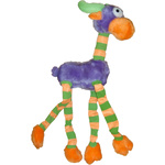 Dog Toy Plush Long Legs Purple
