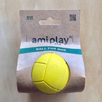Amiplay Floating Natural Rubber Dog Ball Medium 6.3cm