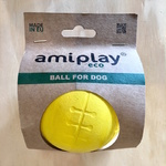 Amiplay Floating Natural Rubber Dog Ball XLarge 9.5cm