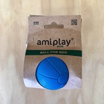 Amiplay Durable Natural Rubber Dog Ball Medium 5.8cm