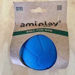 Amiplay Durable Natural Rubber Dog Ball XLarge 8.5cm