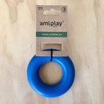 Amiplay Durable Natural Rubber Dog Ring Medium 9.5cm