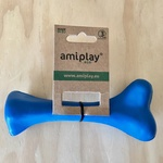 Amiplay Durable Natural Rubber Dog Bone 16cm