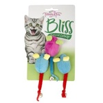 Trouble & Trix Bliss Mice Bell 3pk