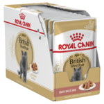 Royal Canin Cat British Shorthair in Gravy 85g 12 Pack