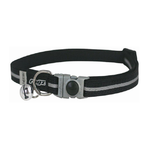 Rogz Alleycat Safeloc Collar - Black 11mm