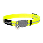 Rogz Alleycat Safeloc Collar Dayglo 11mm