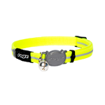 Alleycat Safeloc Collar Dayglo 8mm