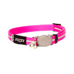 Rogz Alleycat Safeloc Collar Pink 8mm