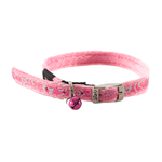 Rogz Sparklecat Pin Buckle Collar Pink 8mm