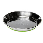 Rogz Anchovy Stainless Steel Cat Bowl Lime