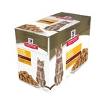 Hill's SD Cat Urinary Hairball  Adult Chicken 12 x 85g Pouches