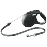 Flexi Classic Cord 5m Small Dog Lead Black