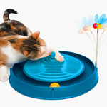 Catit Play 3 in 1 Massager with Circuit Toy and Bouncy Bee