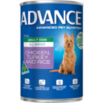 Advance Dog Adult Chicken Turkey Rice 410g