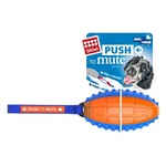 GigWi Rugby Ball PTM Trans Blue/Orange