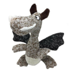 Furry Face Cuddlers Dragon 27cm