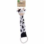 Furry Face Tuggers Cow 43cm