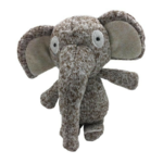 Furry Face Cuddlers Elephant 16cm