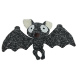 Furry Face Cuddlers Bat 18cm