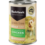 Black Hawk Dog Grain Free Chicken 400g